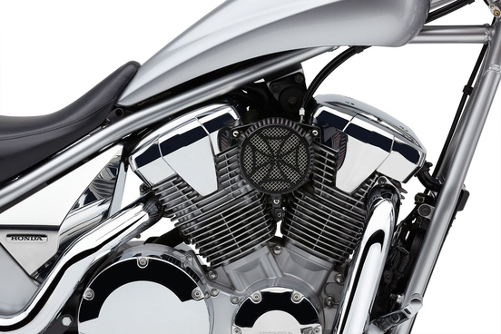 Air Intake Cross Black