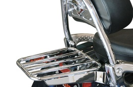 Solo Luggage Rack (Tube) (Fits OEM Backrest)