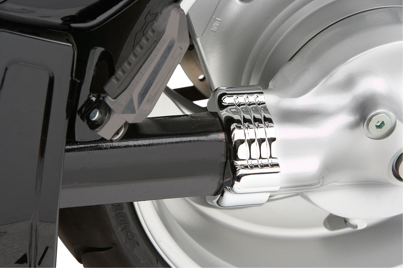 Drive Shaft Bolts Cover Fluted | Billet Accessories | Motorcycle