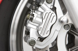 Front Brake Caliper Caps Fluted