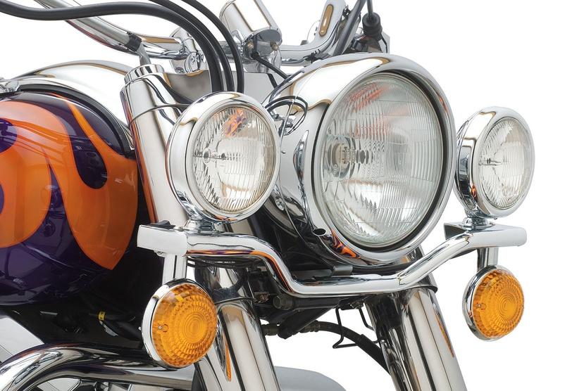 Black Motorcycle Light Bar Bracket for Yamaha Vstar XV 1100 1300 Classic Stryker