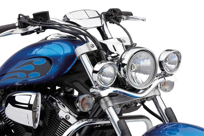 Steel lightbar lightbarsvisorsspotlights motorcycle steel lightbar aloadofball Gallery