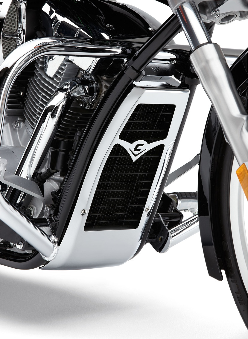 Radiator Cover | Chrome Accessories | Motorcycle ...