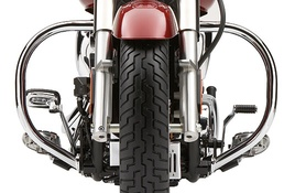 Cobra  Racks   CHROME   Kawasaki   VN1600 Vulcan Mean Streak   04-08